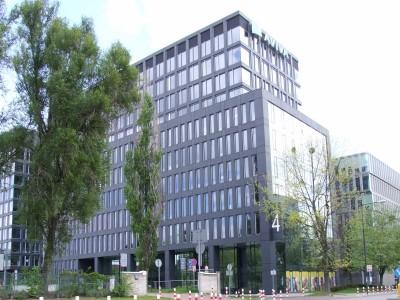 Biurowiec na Domaniewskiej - 7000 m2 wylewki anhydrytowej wykonanej przez firmę MixoBud