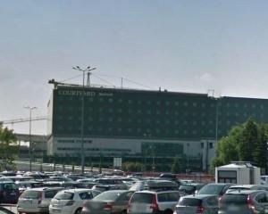 Hotel Mariot Okęcie - 1400 m2 wylewki