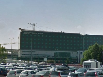 Hotel Mariot Okęcie - 1400 m2 wylewki anhydrytowej w wykonaniu firmy MixoBud