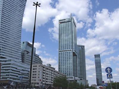 Biznes Center Gdański - wylewki anhydrytowe na podłogach podniesionych