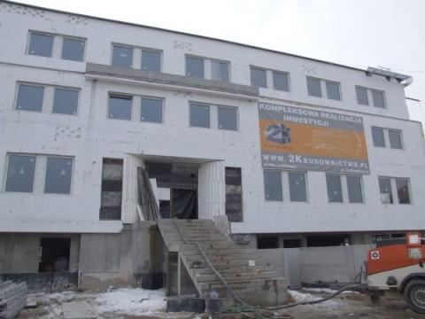 Budynek biurowy - inwestycja na terenie Warszawy