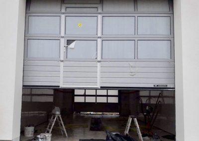 Budynek samochodowej stacji diagnostycznej i myjni w Piasecznie – posadzka anhydrytowa